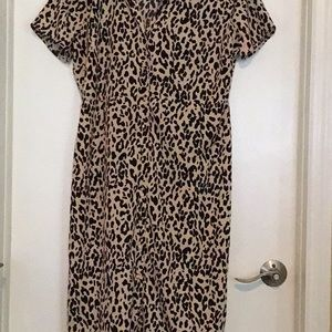 Lulu's Animal Print Dress